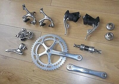 Campagnolo Record Titanium 8 speed Groupset 1996 Excellent Condition