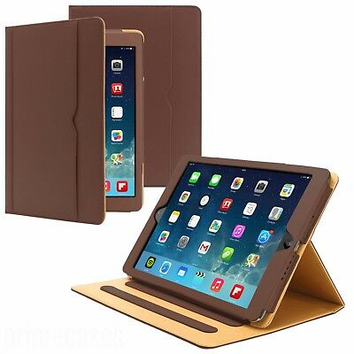 New Soft Leather Wallet Smart Case Cover Folio Stand Sleep / Wake for APPLE iPad
