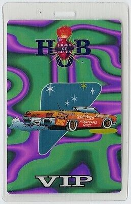Cypress Hill 1996 Laminate Backstage Pass Fugees Ziggy Marley tribe called quest