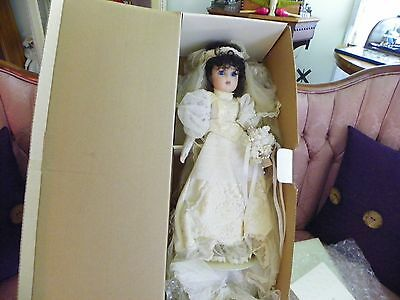 "Marie Osmond Victoria The Bride 26"" New In Original Box"
