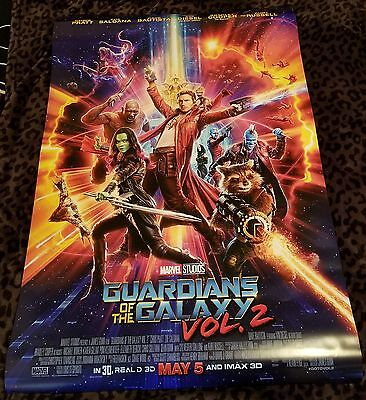 Guardians Of The Galaxy Vol 2 DS 27x40 Original Movie Poster