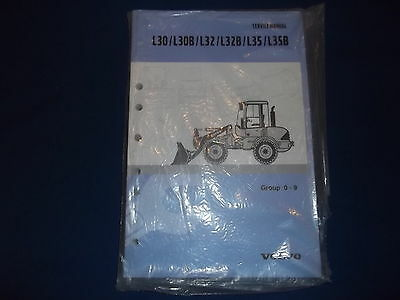 Volvo L30 L30B L32 L32B L35 L35B Wheel Loader Service Shop Repair Manual Book
