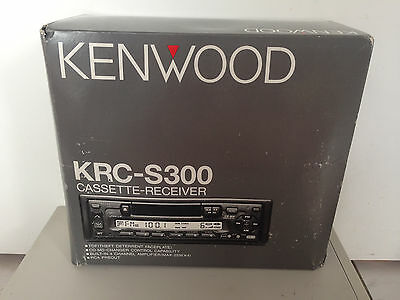 NEW 1990s Kenwood KRC-S300 Car Stereo Cassette Receiver CD Changer Control