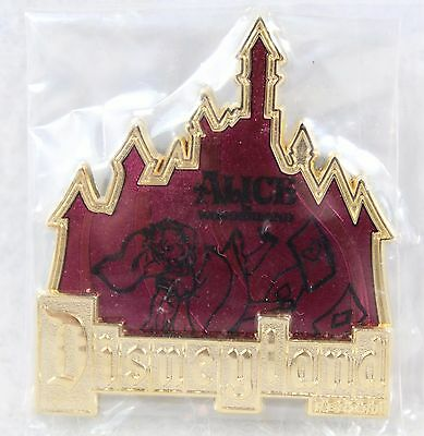 Disney DLR Disneyland Cast Member Gothic D Alice in Wonderland LE 500 Pin