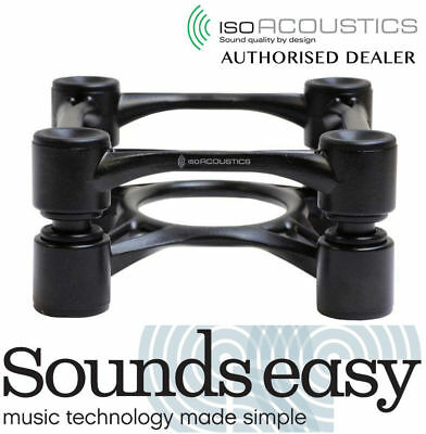 IsoAcoustics Aperta Aluminum Adjustable Studio Monitor Speaker Stands (Pair)