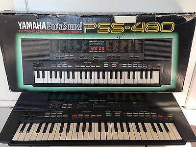 1988 Yamaha PSS-480 Digital Synthesizer Keyboard