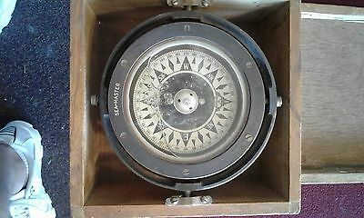 Seamaster compass  rare maritime antique in good condition