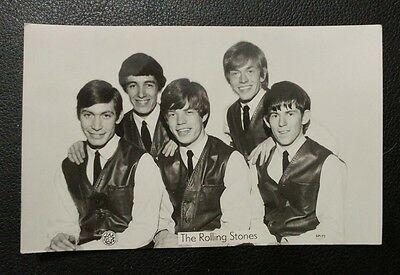 Rolling Stones Real Photo Postcard 1964