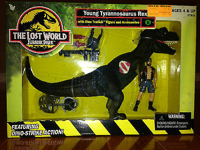 1997 Jurassic Park The Lost World – Young T-Rex /w Dino Tracker – Brand New MISB