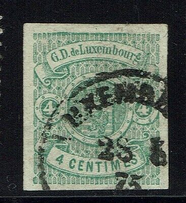 Luxembourg Scotts# 27 - Used - VF+ - Lot 011816