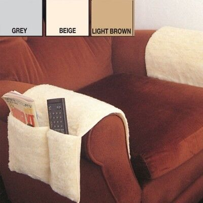 Arm Chair Protectors Armchair Covers Remote Control Organiser Storage Sofa Couch