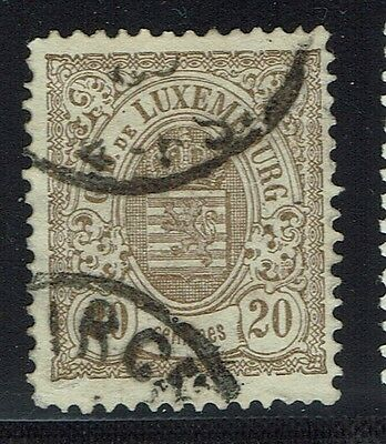 Luxembourg Scotts# 45b - Perf 13.5 - Used - Lot 011816