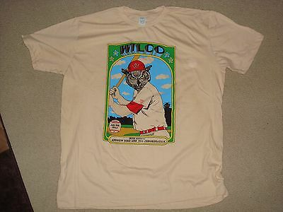 Wilco Concert Gig T-Shirt Chicago Il Fifth 5Th Third Baseball Ballpark 7/8 L Xl
