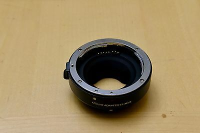 Electronic Adapter Ring EF-MFT F Canon EOS EF-S Lens to Micro 4/3 M4/3 Open Box