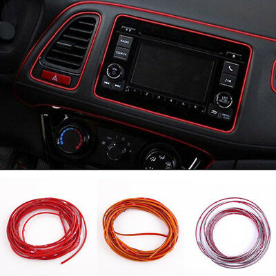 Edge Gap Line Interior Point Molding Accessories Garnish 5M for Universal Car