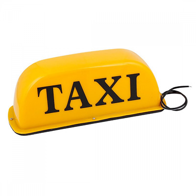Base magnetica luce giallo Sign-Insegna per Taxi