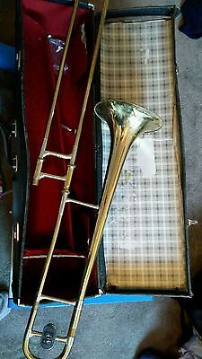 Vintage TROMBONE MADE BY BOOSEY & HAWKES Regent II