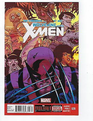 Wolverine and the X-Men # 28 Regular Cover 1st Print Marvel NM X-Men