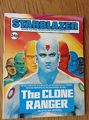 STARBLAZER COMIC No.166