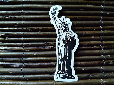 Statue Of Liberty Usa Ny Skateboard Snowboard Sticker Pvc Decal Helmet Laptop