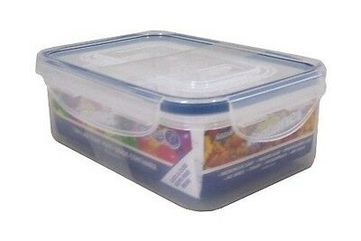 Set of 2 Microwave Freezer Storage Food Safe Plastic Handy Containers