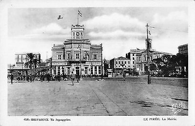 BR97849 piraeus the town hall greece real photo