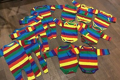 10 x Wholesale Job Lot Baby Clothes Bulk Buy Discount Second Cheap Baby Grow