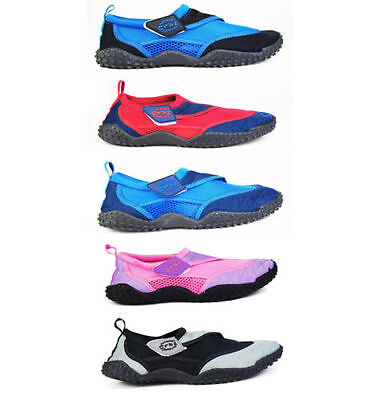 Adults & Kids Nalu Aqua Shoes in 4 Colours Swimming Surfing Beach Shoes Wetshoes