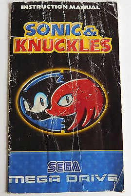 * Sega Mega Drive * Sonic & Knuckles - Manual Only * Retro Gamer *