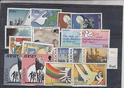 80.182/ Europe Cept MNH Lot / Mixture from 1995