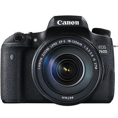 IPT - Fotocamera Reflex Canon EOS 760D + 18-135mm IS STM 754275