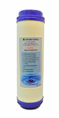"Finerfilters 10"" GAC Activated Carbon Filter Water For Reverse Osmosis"