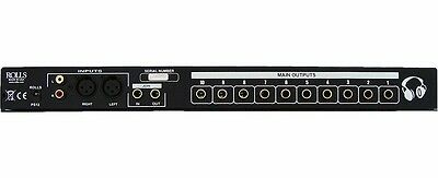 Rolls RA102 10 Channel Joinable Professional Headphone Amp Studio Amplifier