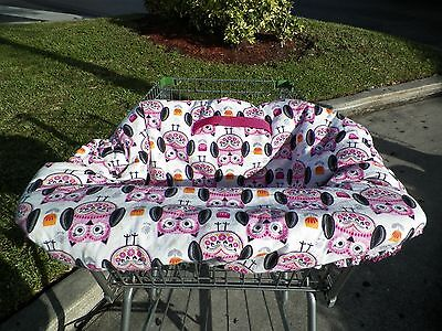 Padded Shopping Cart Cover Baby Protection with Tote