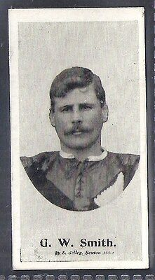 Taddy-Football Ers (New Zealand) 1906- Gw Smith