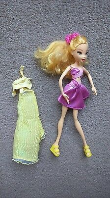 'Stella' doll from Winx Club+ spare outfit (and Stella has eyelashes!)