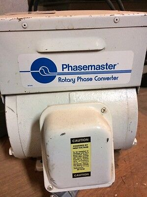 Phase Converter - Phasemaster rotary with Square D switching