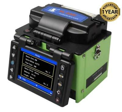 Jilong KL-500E SM MM Core Alignment Fiber Fusion Splicer w/ Cleaver KL-500