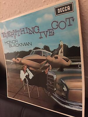 """Honor Blackman: """"everything I've Got"""" Uk Blue/silver Decca ((Stereo)) 1964!"""