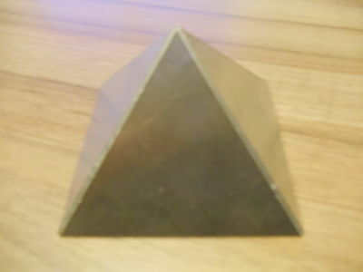 Orgone Aluminium Resin Casting Small Giza Pyramid Mold / Mould - 70x70mm Base