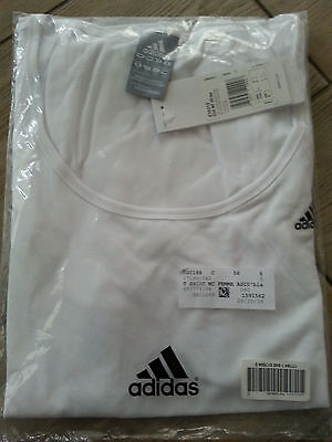T-shirt FITNESS ADIDAS blanc taille S Neuf&emballé