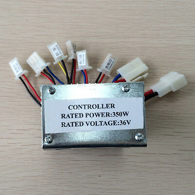 36V 350W Brush Speed Controller Box For Electric Bicycle E-Bike