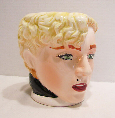 MADONNA AS BREATHLESS MAHONEY 1990 FIGURAL CERAMIC DICK TRACY MUG by APPLAUSE