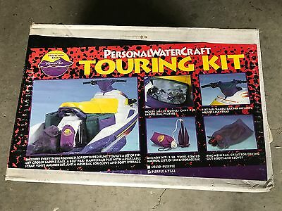 New WavePro PWC Touring Kit Anchor Mesh Pouch Cooler Handlebar Pack