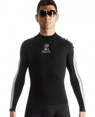 Assos Long Sleeve SkinFoil Spring/Fall S7 Baselayer Black