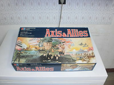 1984 Axis & Allies Board Game