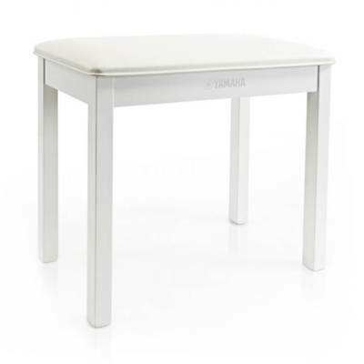 Yamaha B1WH Piano Bench - White
