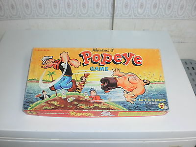1957 The Adventures of Popeye Board Game
