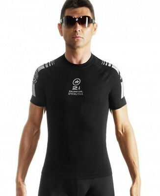 Assos Short Sleeve SkinFoil Spring/Fall S7 Baselayer Black