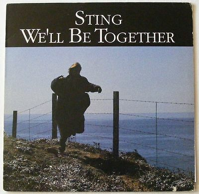 "STING USA 1987 EXTRA TRACK 12"" Single WE'LL BE TOGETHER"